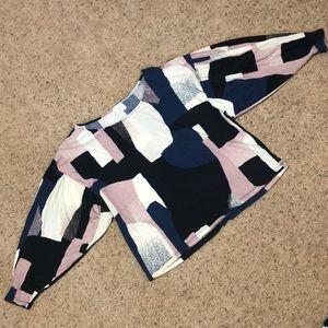 t.la dolman sleeve blouse